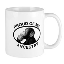 Proud of my Ancestry Chimp Mug