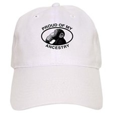 Proud of my Ancestry Chimp Baseball Cap