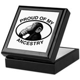 Proud of my Ancestry Chimp Keepsake Box