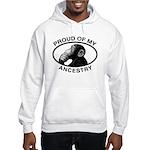 Proud of my Ancestry Chimp Hooded Sweatshirt