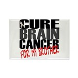 Cure Brain Cancer -- For My Brother Rectangle Magn