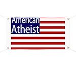 American Atheist Flag Banner