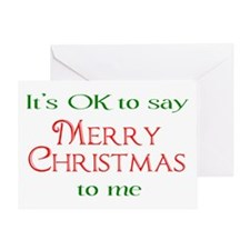 Cute Conservative christmas Greeting Card