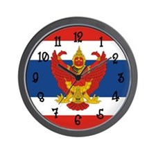 Thailand Flag Wall Clock