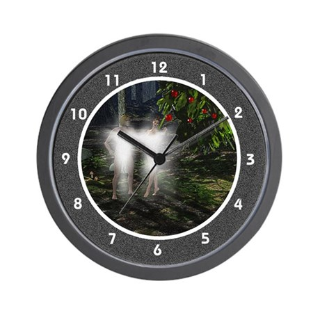 Adam and Eve in Garden Wall Clock