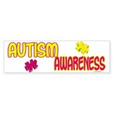 Autism Awareness 1.2 Bumper Bumper Sticker