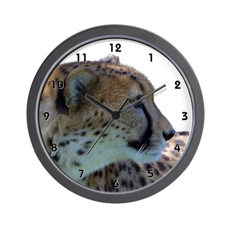 Cheeta Jaguar Clocks Wall Clock
