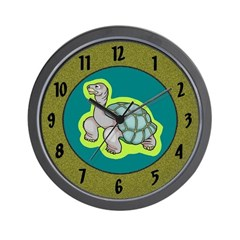 Turtle Kids Room Children Clocks Wall Clock
