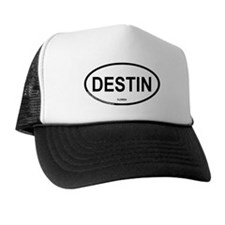 Destin Oval Trucker Hat