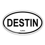 Destin Oval Decal