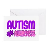 Autism Awareness 1.4 Greeting Cards (Pk of 20)