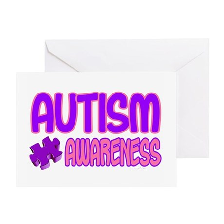 Autism Awareness 1.4 Greeting Card