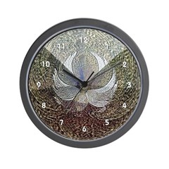 Abstract Angel Clocks Wall Clock