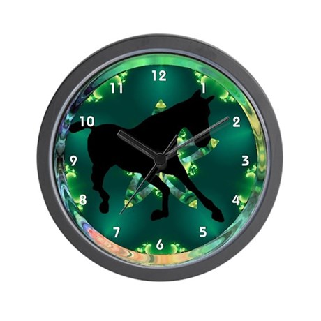 Horse Pony Clocks Wall Clock
