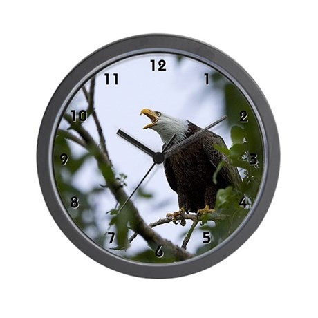 Bald Eagle Clocks Wall Clock