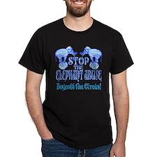 Circus Boycott -Blue T-Shirt