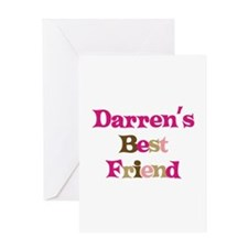Darren's Best Friend Greeting Card