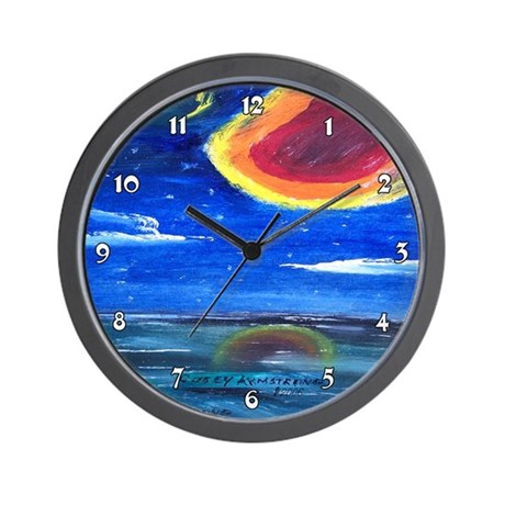 Asteroid Clocks Wall Clock