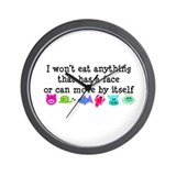 Won't Eat Wall Clock