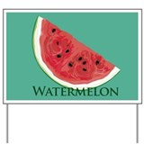 Watermelon Slice Yard Sign