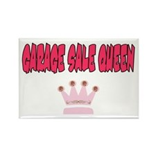 Garage Sale Queen Rectangle Magnet