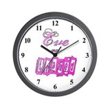 Eve was Framed Humor Clocks Wall Clock