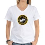 Philly Police PR Women's V-Neck T-Shirt