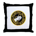 Philly Police PR Throw Pillow