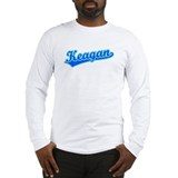 Retro Keagan (Blue) Long Sleeve T-Shirt