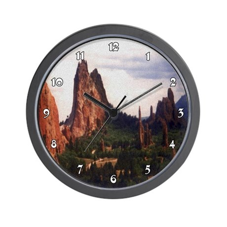 Off Road Scene Clocks Wall Clock