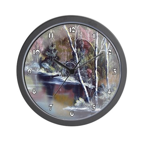 Aspen Reflections Clocks Wall Clock