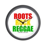 Roots Rock Reggae Wall Clock
