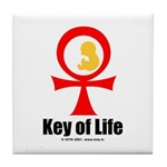 Key of Life Tile Coaster