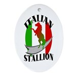 Italian Stallion Keepsake (Oval)