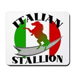 Italian Stallion Mousepad
