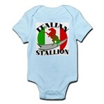 Italian Stallion Infant Creeper