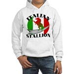Italian Stallion Hooded Sweatshirt