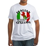Italian Stallion Fitted T-Shirt