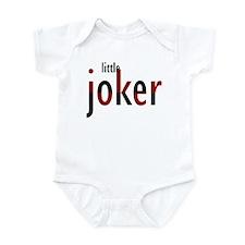 Little Joker red & black text Infant Bodysuit