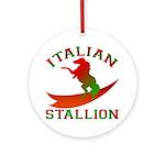 Italian Stallion Keepsake (Round)
