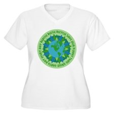 Earth Day Slogans T-Shirt