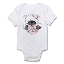 EWE HAD ME AT HELLO Infant Bodysuit