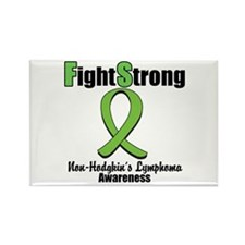 Fight Strong Non-Hodgkin's Rectangle Magnet (10 pa