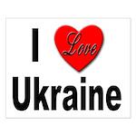 I Love Ukraine Small Poster