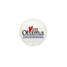 Obama Gives Good Oratory Mini Button (10 pack)