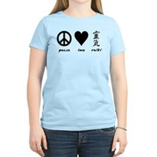 Peace, Love & Reiki T-Shirt