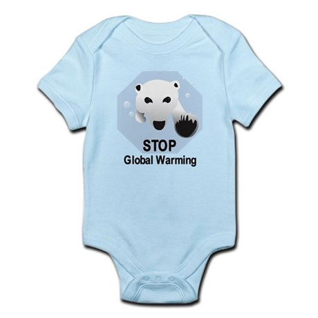 Stop Global Warming Infant Bodysuit