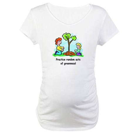 Earth Day Maternity T-Shirt