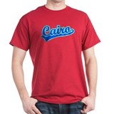 Retro Cairo (Blue) T-Shirt