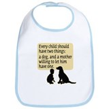 Child, Lab, Mother - Bib